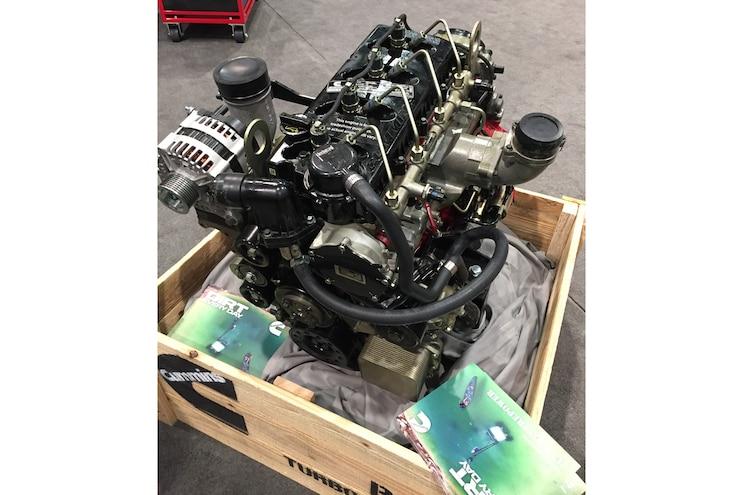 Diesel Truck Parts Sema Cummins 2.8l I 4 Crate Engine