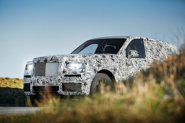 Rolls-Royce to Use 2019 Phantom Platform for Cullinan