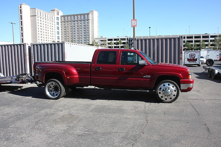 005  Diesel Trucks Cars Sema  Parking Lot