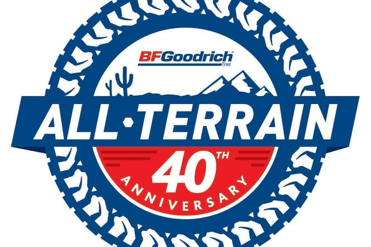 Auto News 8 Lug Work Truck Bfgoodrich Radial All Terrain Ta Tire 40th Anniversary