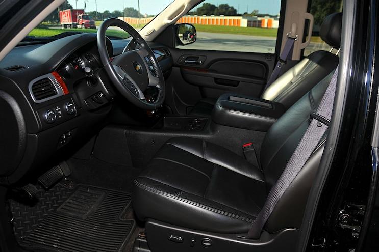 2011 Chevy Silverado Interior