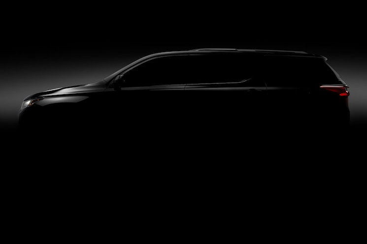 2018 Chevrolet Traverse to Debut in Detroit