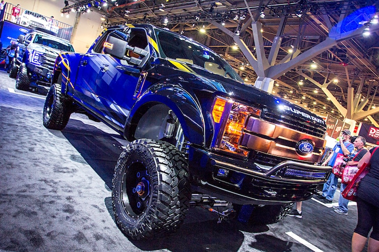2016 Sema Show 2017 Ford Super Duty Trucks 25