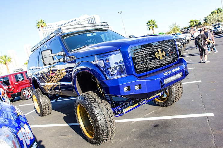 2016 Sema Show Hd Ford Trucks 1