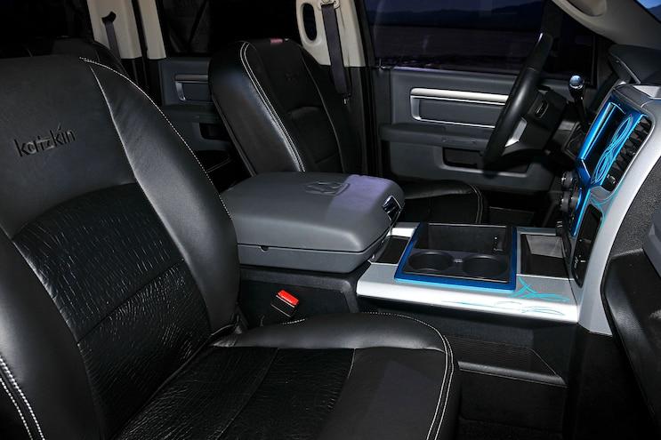 2014 Dodge Ram 2500 Candy Interior