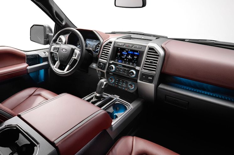 2018 Ford F 150 Platinum Interior Side