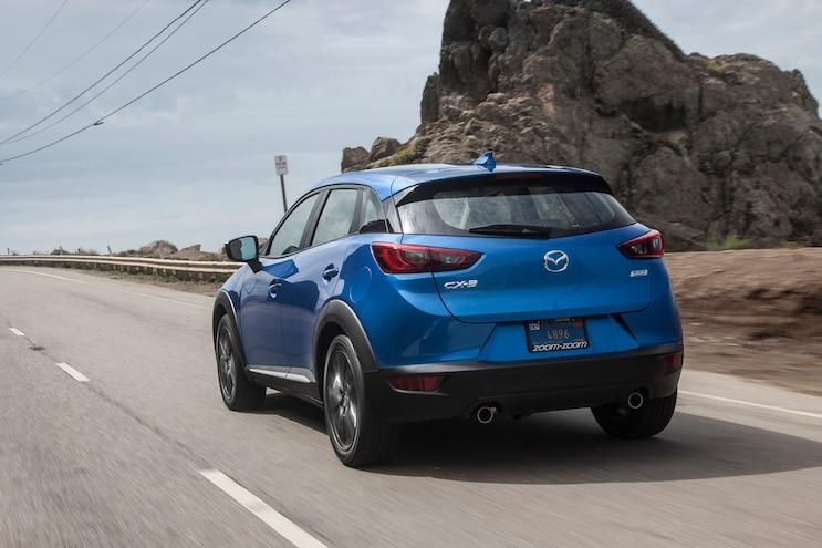 2017 Mazda Cx3 First Drive Rear