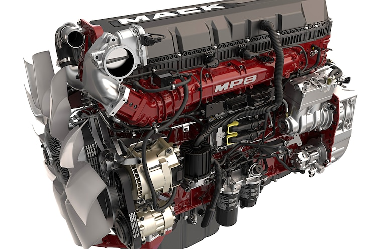Mack Trucks MP 8: Compounded Efficiency