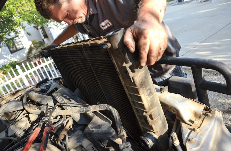 Shop Class Cooling Systems Radiator Install