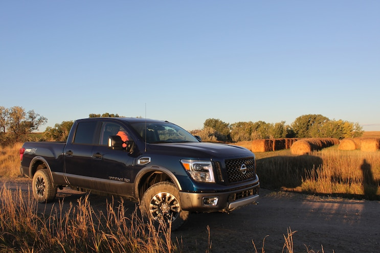 Hunting With 2016 Nissan Titan Xd