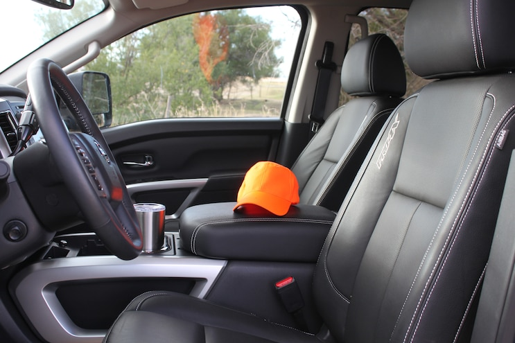 Hunting With 2016 Nissan Titan Xd Interior