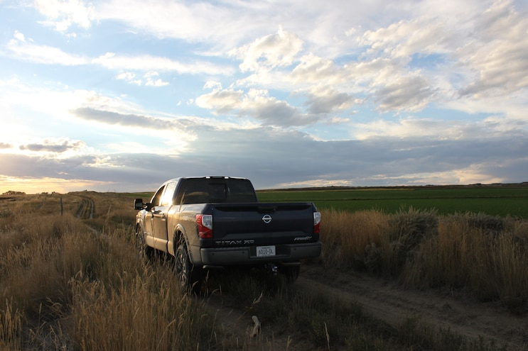 Hunting With 2016 Nissan Titan Xd Rear