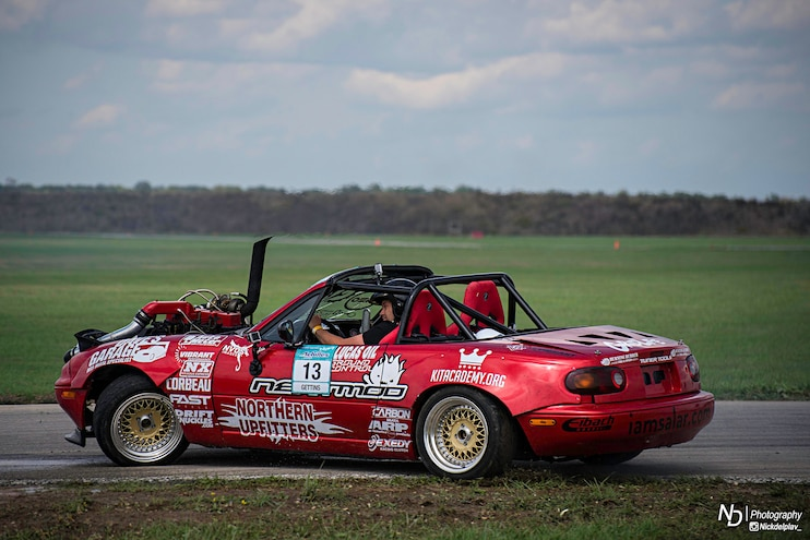 Mighty Miata – Wild Diesel Drift Car