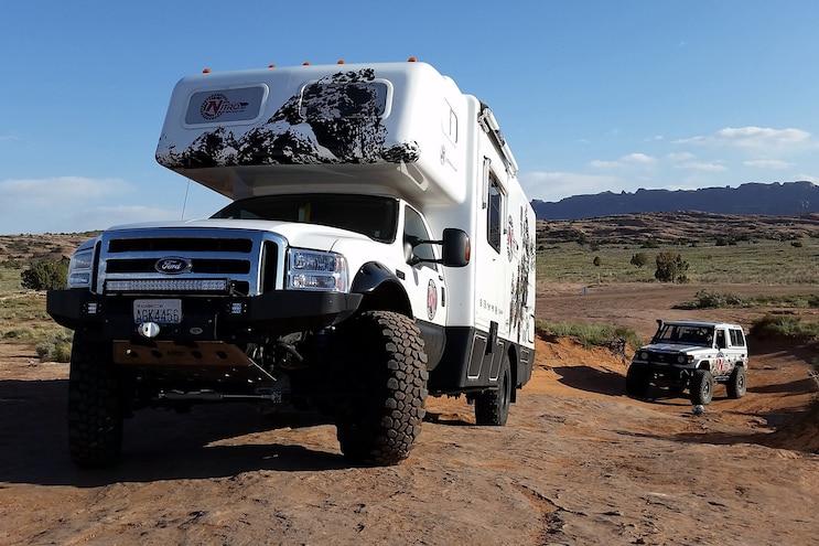 001 Cummins Ford Camper