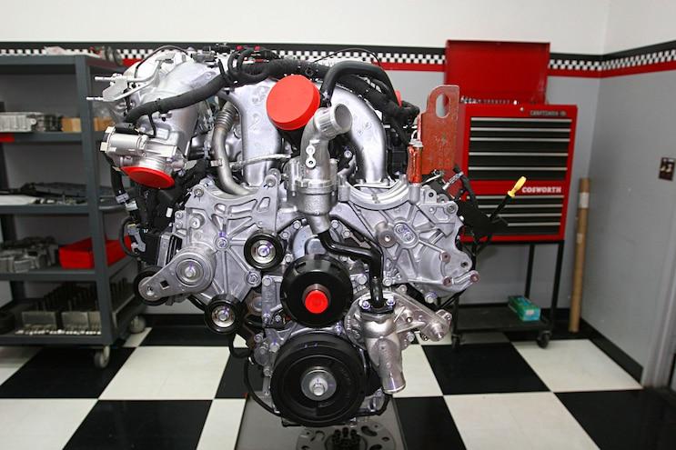 6.6l Duramax L5P Engine Front