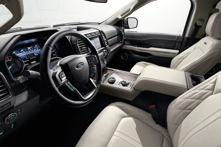 2018 Ford Expedition Interior Front Row Seating