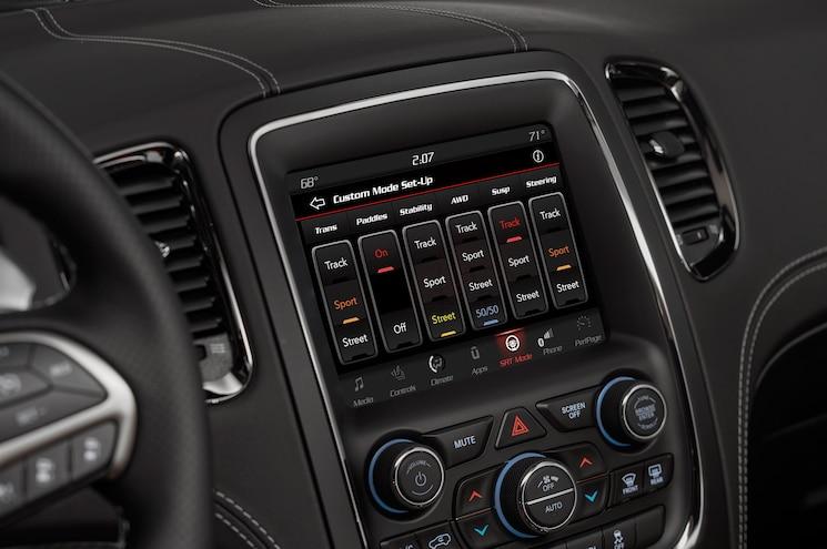 2018 Dodge Durango Srt Interior Uconnect Display 02