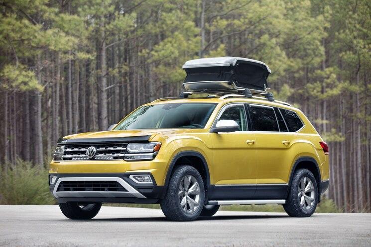 2018 Volkswagen Atlas Weekend Built for Active Families