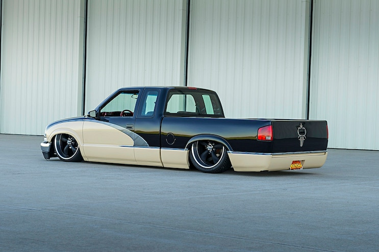 1994 Chevy S10 Rear