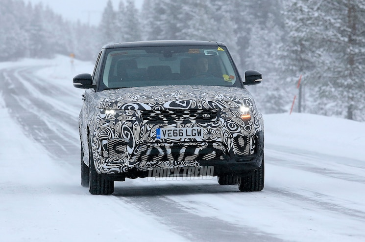 2018 Range Rover Sport Front View