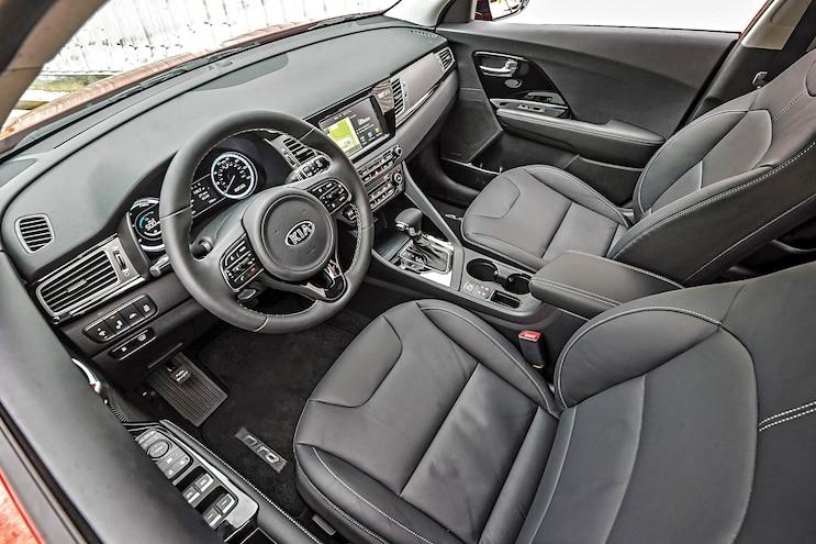 2017 Kia Niro Hybrid First Drive Interior