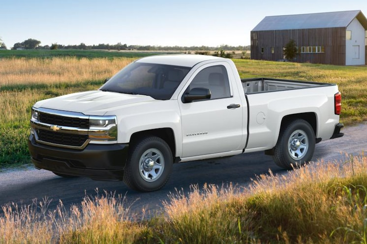 2017 Chevrolet Silverado 1500 Wt Regular Cab