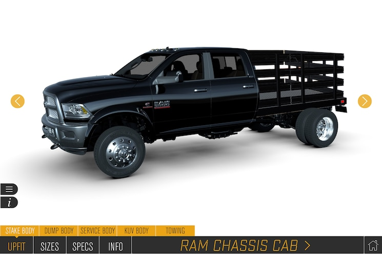 Ram Adds Chassis Cab Trucks to Virtual Configurator, Launches Q Pro Upfitter Qualification