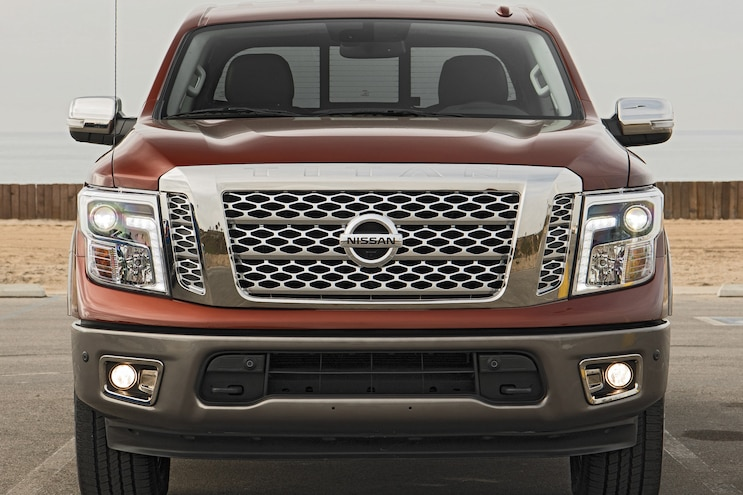 2017 Pickup Truck Of The Year Winner Nissan Titan Front