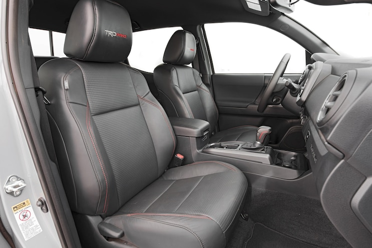 2017 Pickup Truck Of The Year Toyota Tacoma Trd Pro Interior