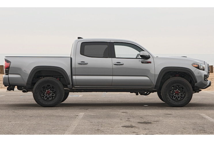 2017 Pickup Truck Of The Year Toyota Tacoma Trd Pro Side