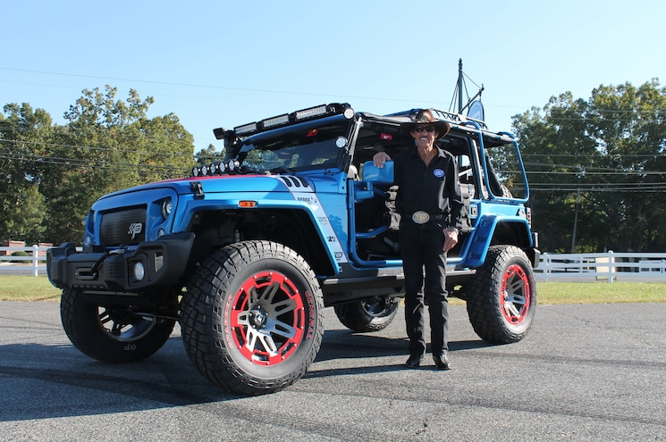 Omix-ADA and Petty's Garage to Auction 2016 SEMA Jeep Wrangler for Charity