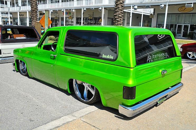 Orange Beach Invasion Chevy K5 Blazer