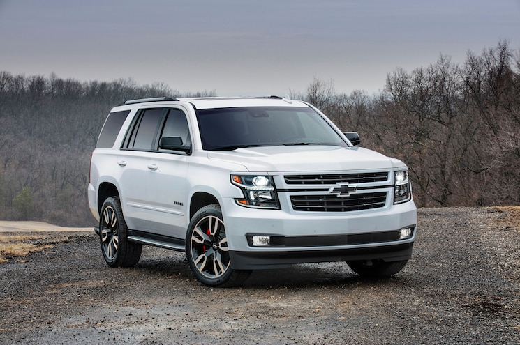 Chevrolet Adds 10-Speed Auto, Sporty Styling to 2018 Tahoe and Suburban RST