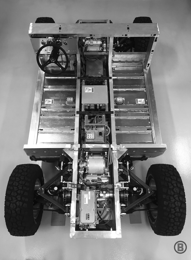 Bollinger Chassis Vertical