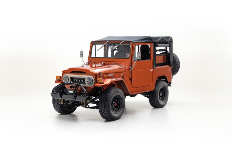 1972 Toyota Land Cruiser FJ40: The FJ Company Reveals Latest Project