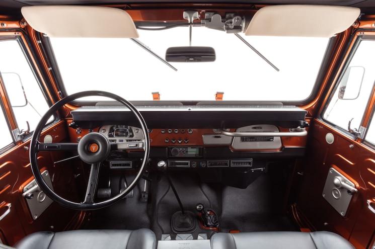 1972 Toyota Land Cruiser Fj40 The Fj Company Interior Dashboard