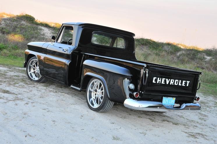 1966 Chevy C10 Stepside Rear