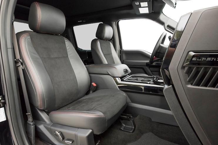 2017 Ford F350 Dualie Interior