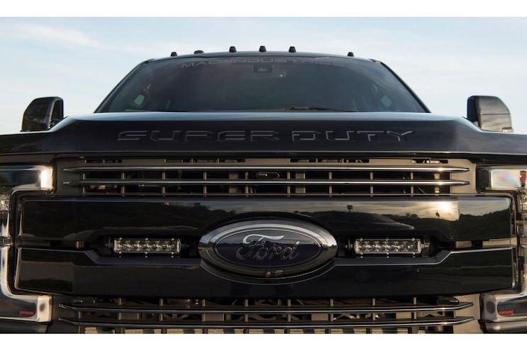 2017 Ford F350 Dualie Grille