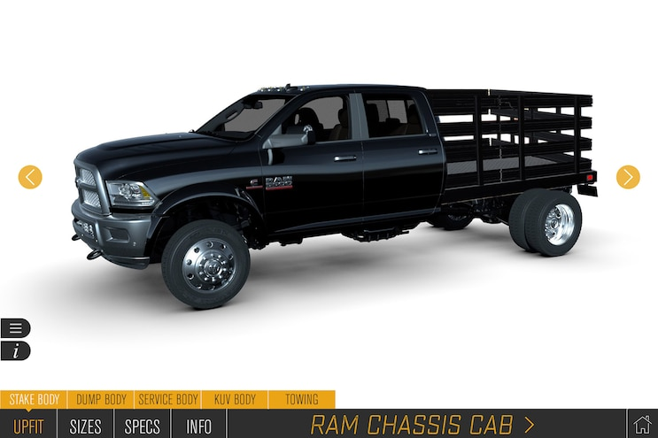 Auto News 8 Lug Work Truck Ram Commercial Augmented Reality Upfit Configurator Q Pro Certifcation Virtual Standards Pickup