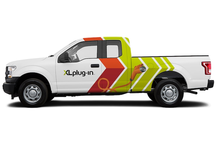 Auto News 8 Lug Work Truck Ford Qualified Vehicle Modifier Electric Hybrid Commercial Vehicles Upfitter