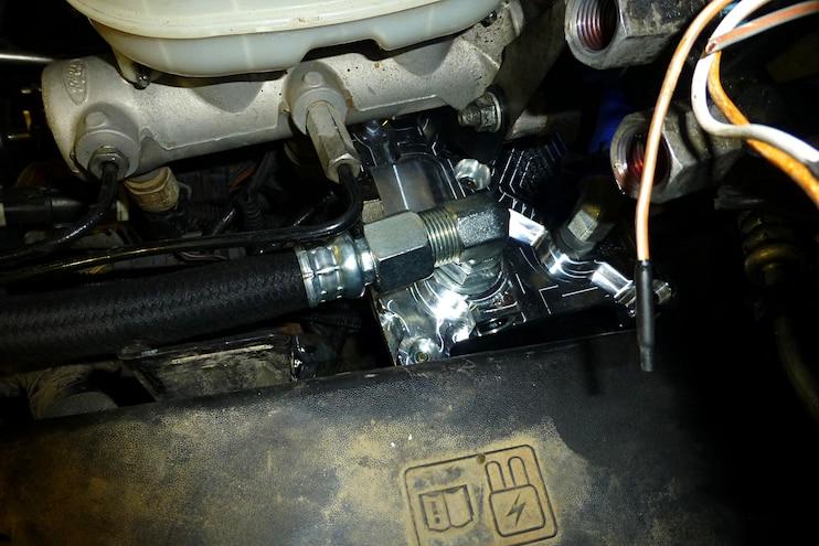 Bulletproof Diesels Oil Cooler System Top Oil Cooler
