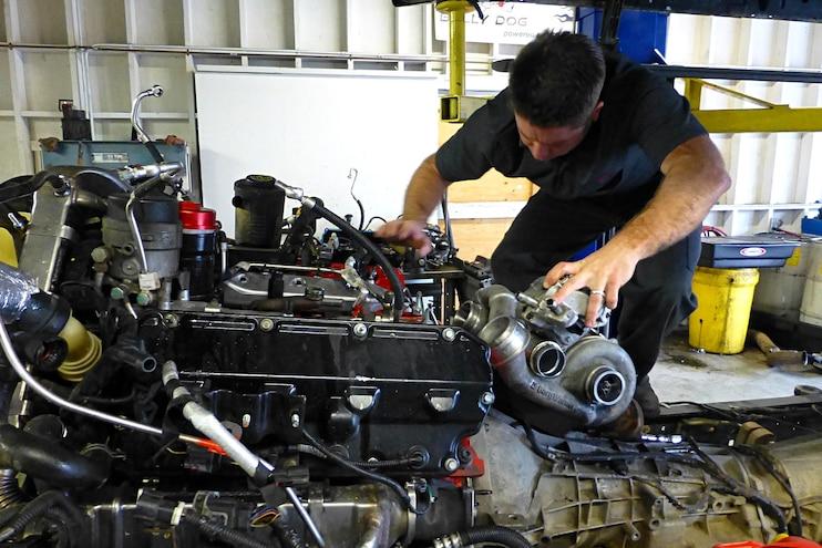 017 Bulletproof Diesels Oil Cooler System