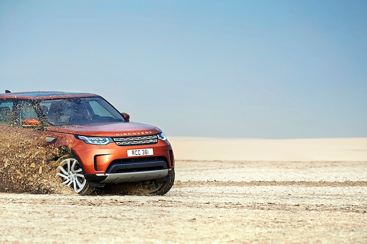 2017 Land Rover Discovery First Drive Off Road