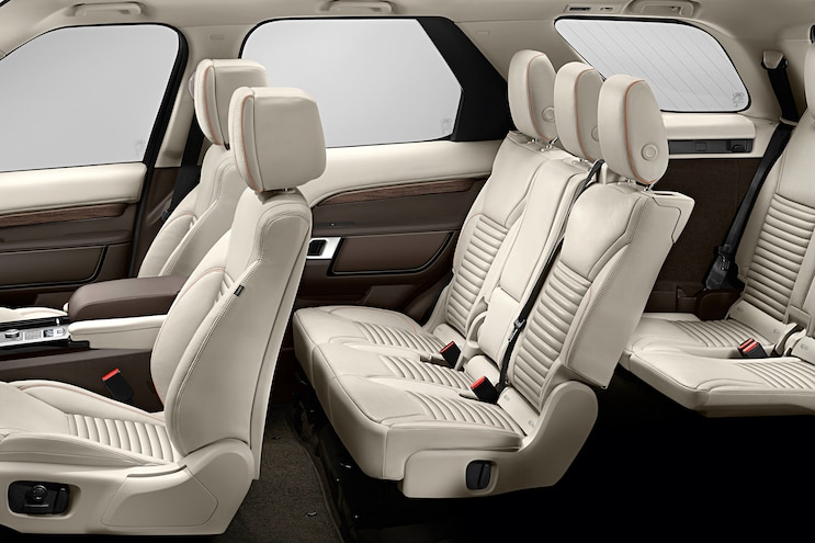 2017 Land Rover Discovery First Drive Interior Seats