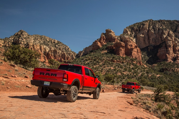 2017 Ram 2500 Power Wagon First Drive Rear
