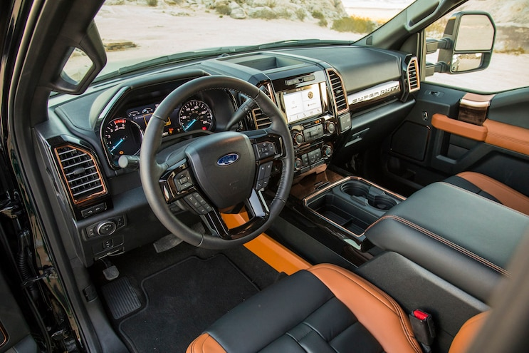 Fabtech 2017 Ford F250 Interior