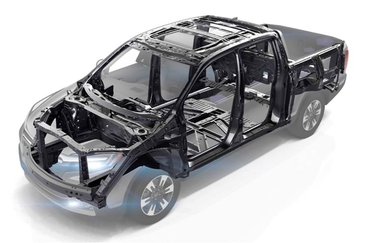 Honda Ridgelines Frame Front