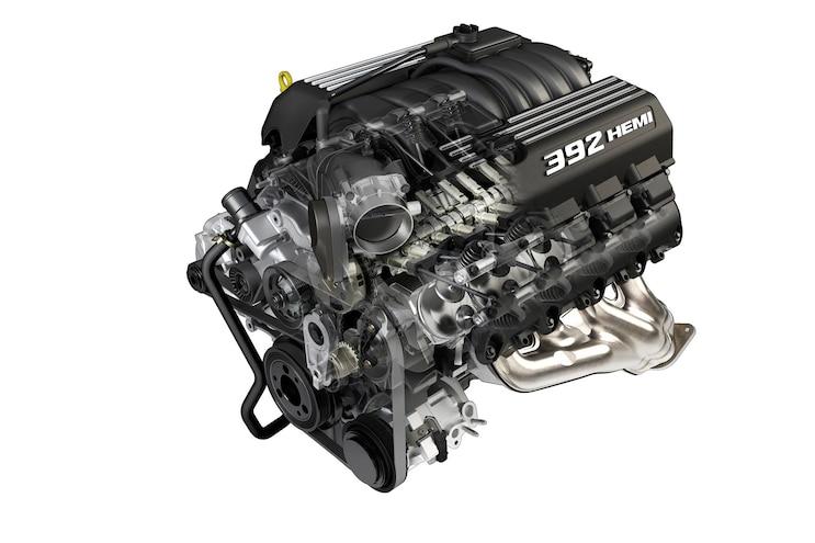 History Hemi V8 Engine 392