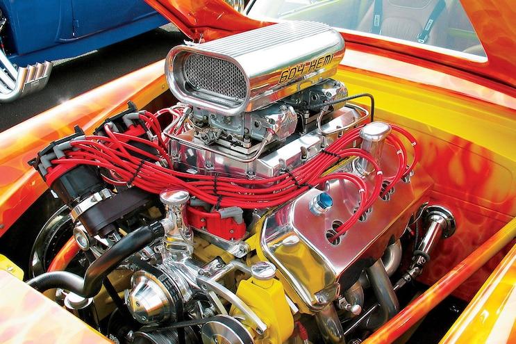 History Hemi V8 Engine 604